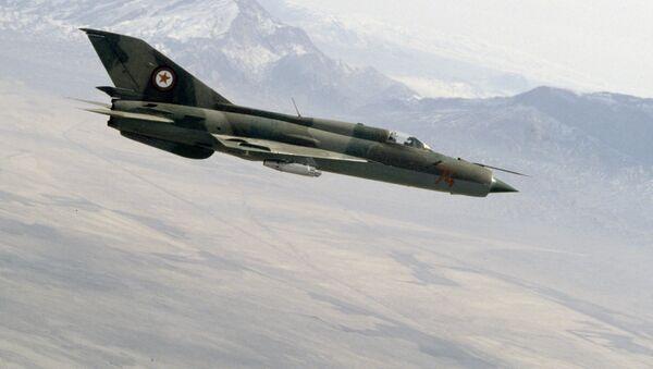 Afghánská stíhačka sovětské výroby MiG-21 - Sputnik Česká republika