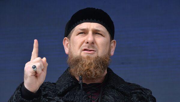 Ramzan Kadyrov - Sputnik Česká republika