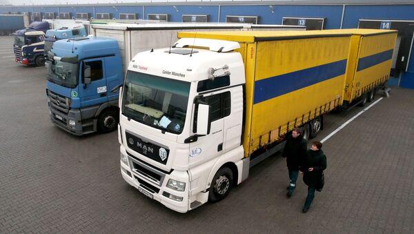 Kamiony. Ilustrační foto - Sputnik Česká republika