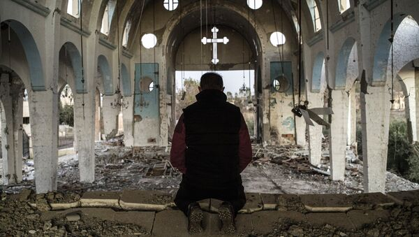 Syrský křesťan - Sputnik Česká republika