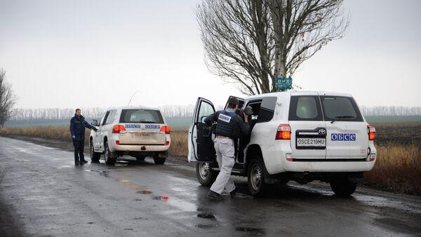 Pozorovací mise OBSE v Donbasu - Sputnik Česká republika