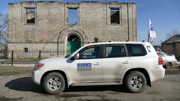 Auto OBSE v Doněcké oblasti - Sputnik Česká republika