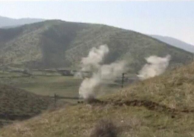 Situace v Náhorním Karabachu