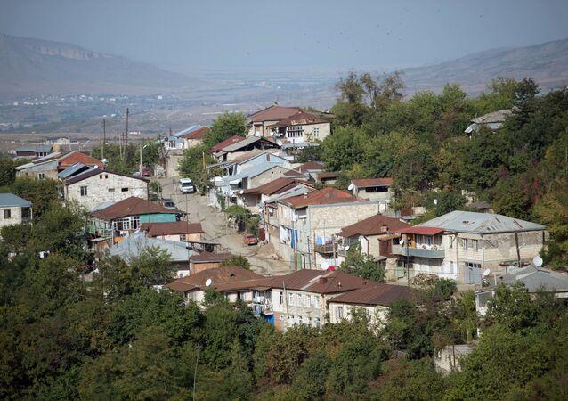 Město Stěpanakert neuznané Náhorně-karabašské republiky