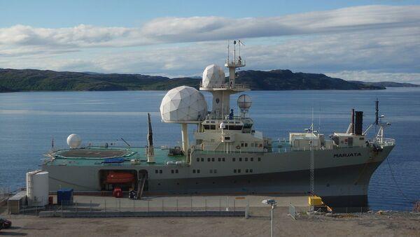 Nová norská výzvědná loď Marjata - Sputnik Česká republika