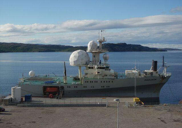 Nová norská výzvědná loď Marjata