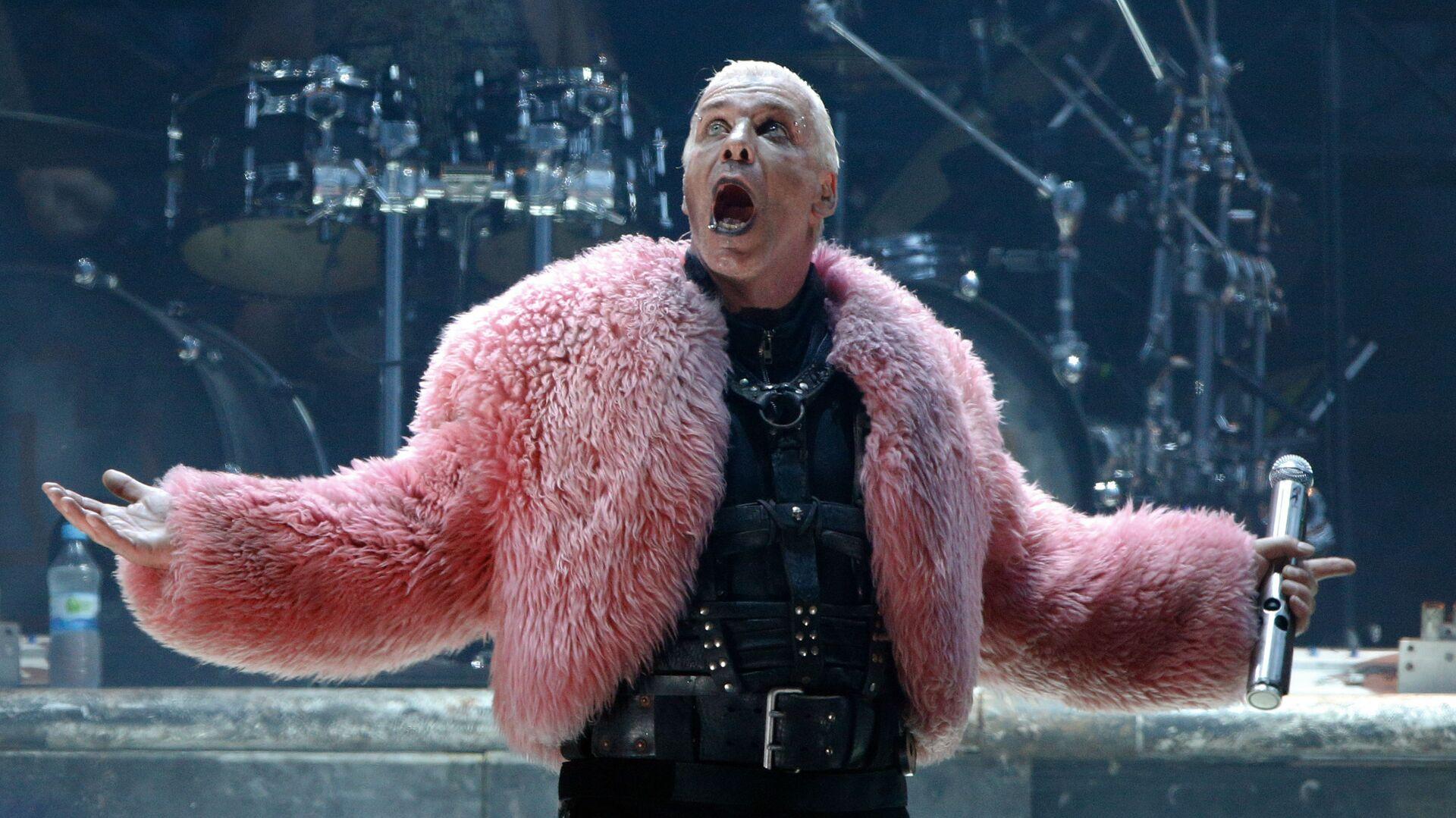 Till Lindemann, frontman německé hudební skupiny Rammstein - Sputnik Česká republika, 1920, 10.05.2021