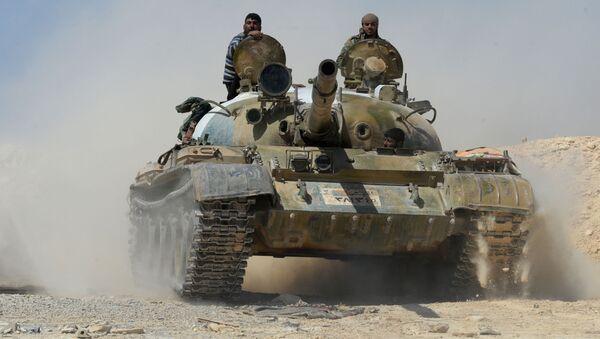 Syrská armáda v Karajtínu - Sputnik Česká republika