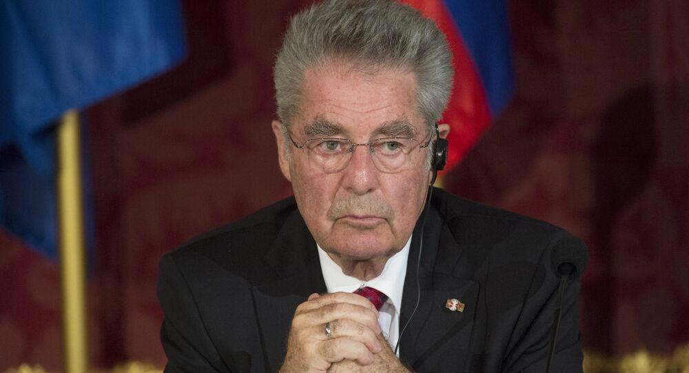Rakouský prezident Heinz Fischer