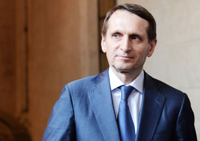 Šéf ruské rozvědky Sergej Naryškin