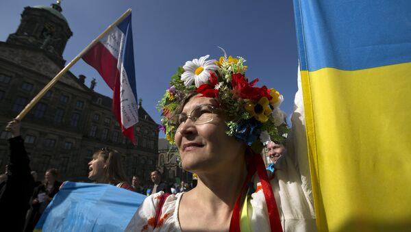 Referendum o Ukrajině v Nizozemí - Sputnik Česká republika