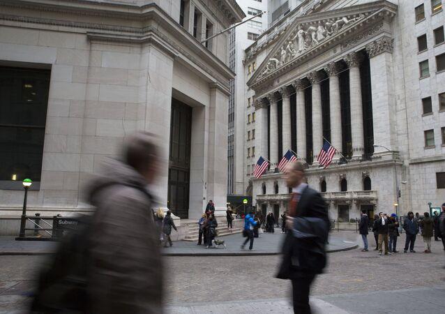 Burza cenných papírů v New Yorku