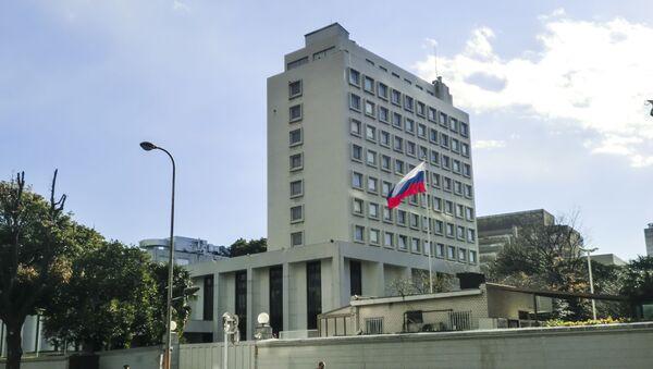 Velvyslanectví Ruska v Tokiu - Sputnik Česká republika