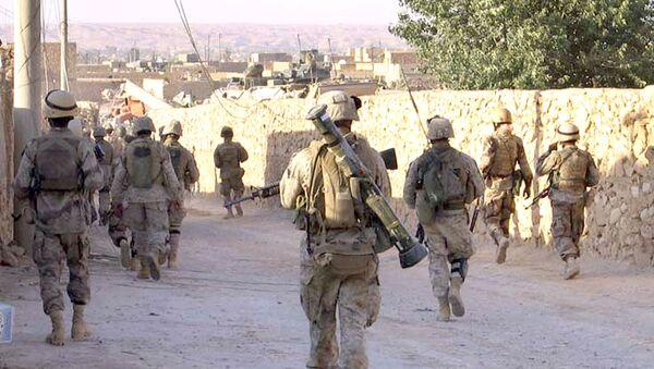 Američtí vojáci na irácko-syrské hranici - Sputnik Česká republika