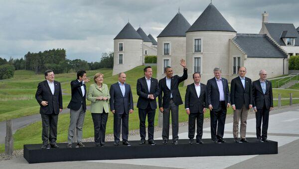 Summit G8 - Sputnik Česká republika