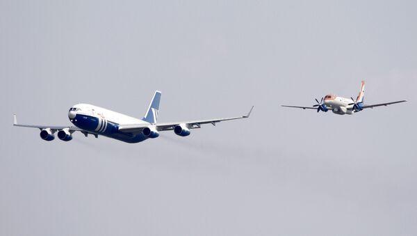 Il-96-400T a Il-114 - Sputnik Česká republika