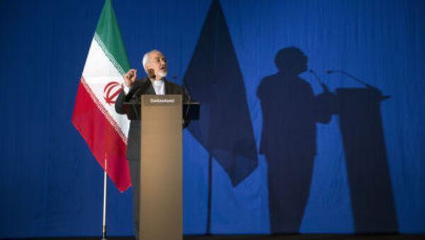 Ministr zahraničí Íránu Mohammed Džavad Zarif - Sputnik Česká republika