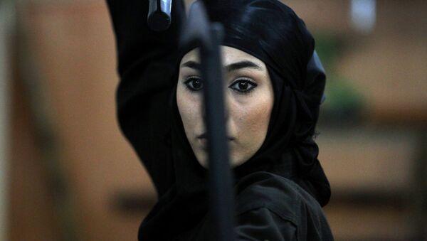 Íránská žena-nindža - Sputnik Česká republika