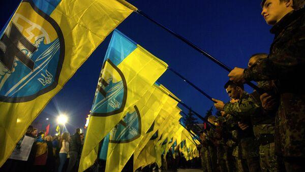 72. výročí vzniku Ukrajinské povstalecké armády - Sputnik Česká republika