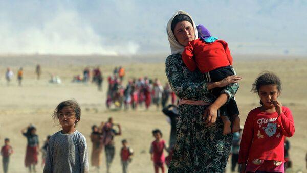 Uprchlíci  z území ovládaného islamským státem - Sputnik Česká republika