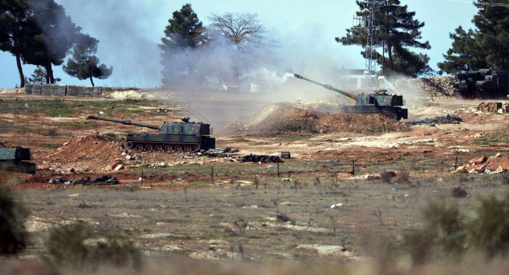 Turecké dělostřelectvo u Kilisu