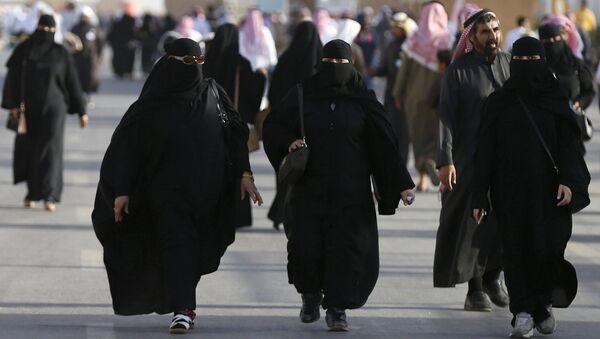 Saúdské ženy. Ilustrační foto - Sputnik Česká republika