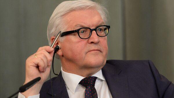 Ministr zahraničí SRN Frank-Walter Steinmeier - Sputnik Česká republika