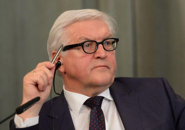 Ministr zahraničí SRN Frank-Walter Steinmeier