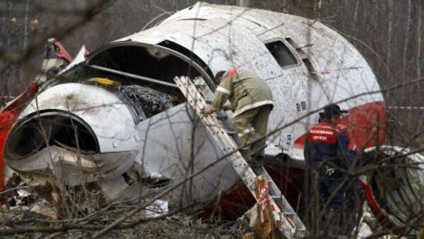 Místo havárie Tu-154 - Sputnik Česká republika