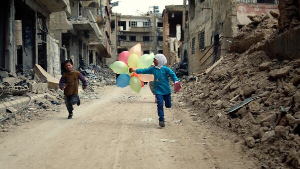 Ulice v Damašku. Ilustrační foto - Sputnik Česká republika