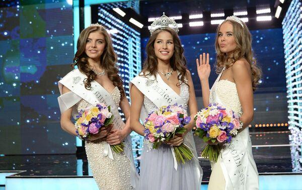 Vítězky soutěže krásy Miss Rusko 2016 - Sputnik Česká republika
