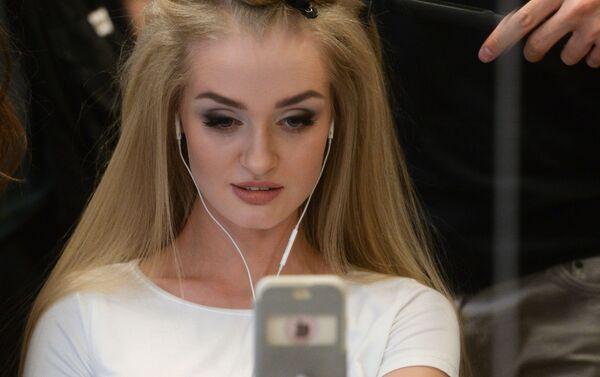 Jedna z účastnic soutěže Miss Rusko 2016 - Sputnik Česká republika