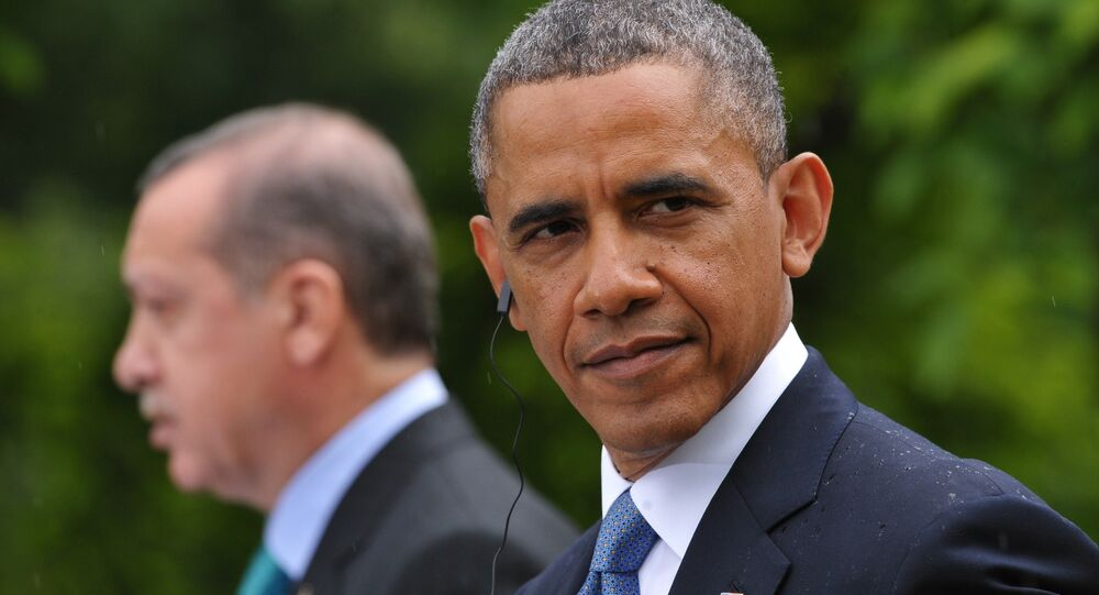 Barack Obama a Recep Tayyip Erdogan
