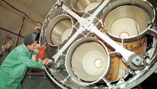 Raketový motor - Sputnik Česká republika