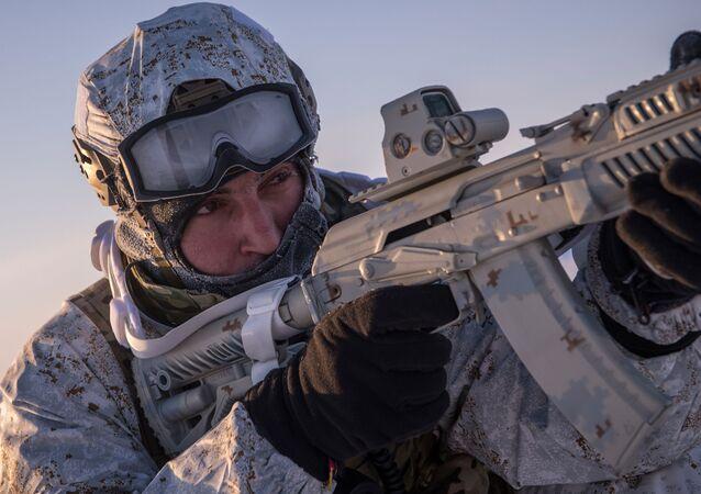 Čečenské speciální jednotky na Severním pólu