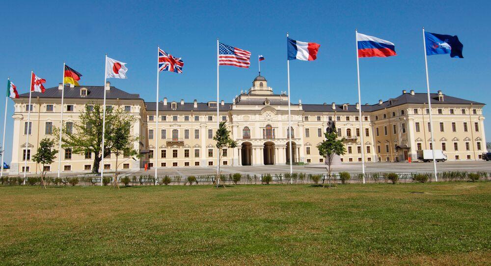 Summit G8 v Petrohradu