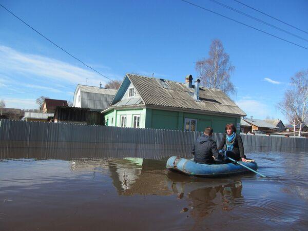 Povodeň ve Vologodské oblasti - Sputnik Česká republika