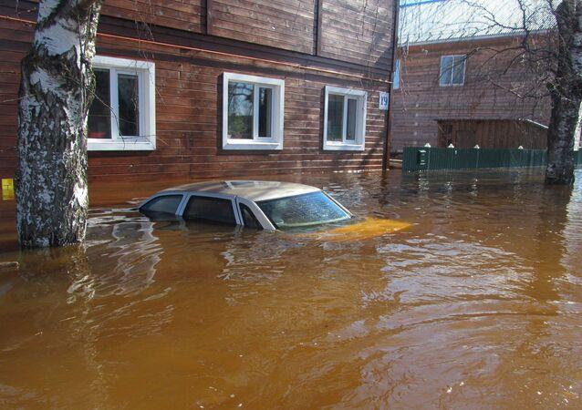Povodeň ve Vologodské oblasti