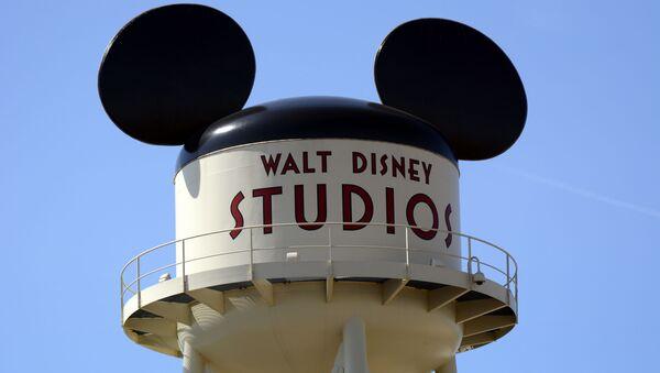 Logotyp filmového studia Disney v Paříži - Sputnik Česká republika