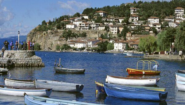 Ohridské jezero, Makedonie - Sputnik Česká republika