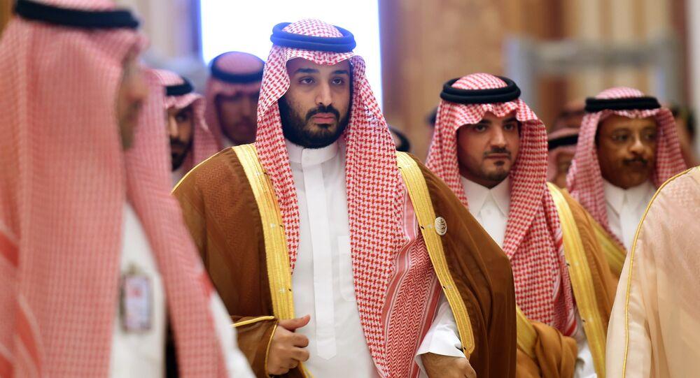 Saúdský princ Mohamed bin Salmán