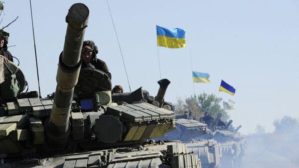 Ukrajinský tank - Sputnik Česká republika