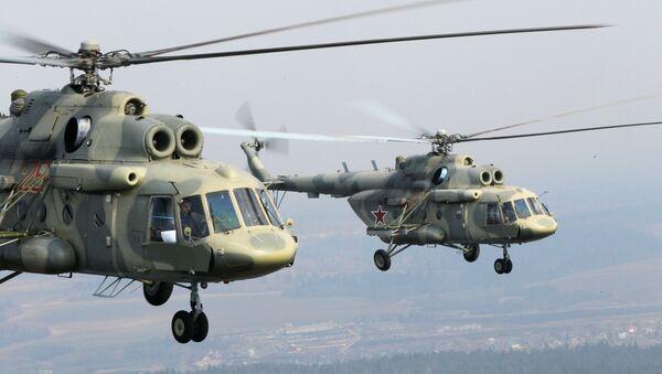 Vrtulníky Mi-17 - Sputnik Česká republika