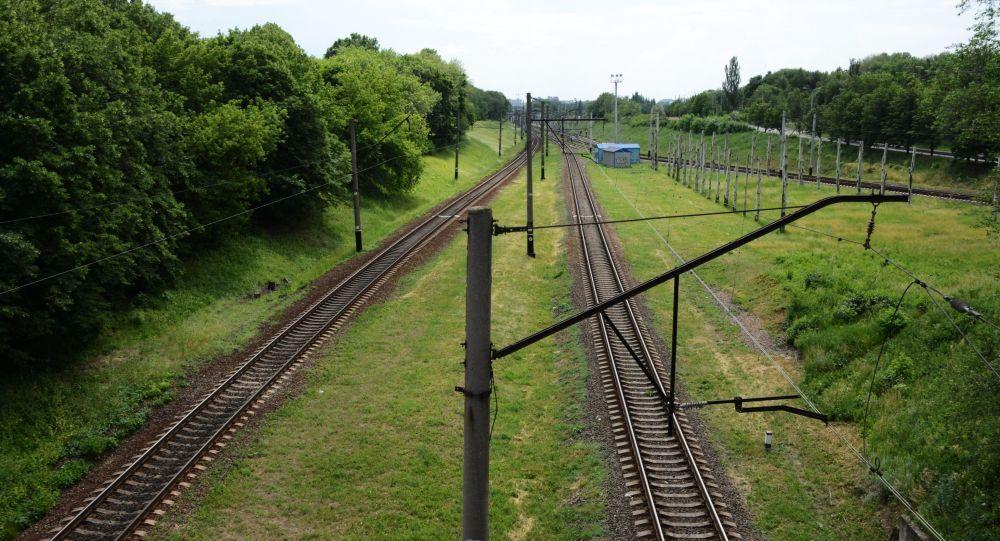 Železnice v Doněcku
