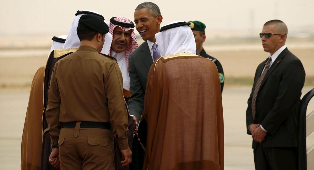Barack Obama v Rijádu