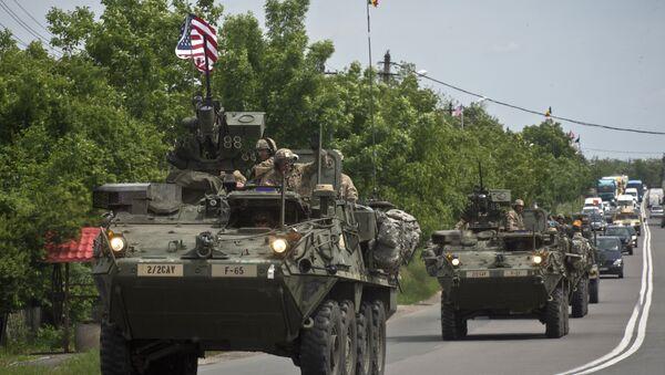 Přejezd americké armády - Sputnik Česká republika