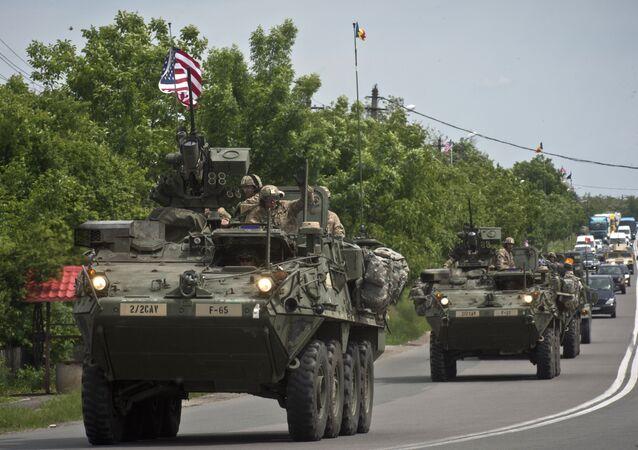 Přejezd americké armády