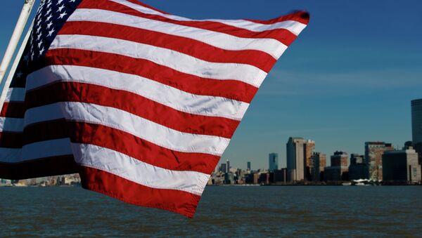 Americká vlajka - Sputnik Česká republika