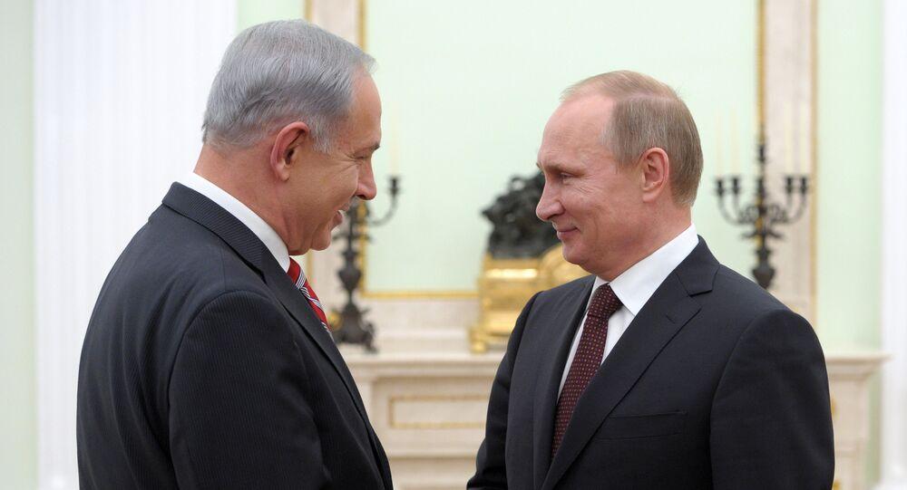Vladimir Putin a Benjamin Netanjahu. Ilustrační foto