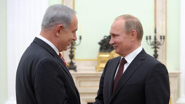 Vladimir Putin a Benjamin Netanjahu - Sputnik Česká republika